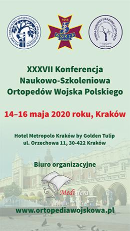 Konferencja Ortopedów (14-16.05.2020)