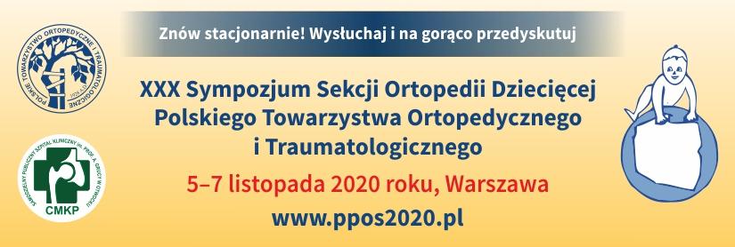 XXX Sympozjum Sekcji Ortopedii Dziecięcej